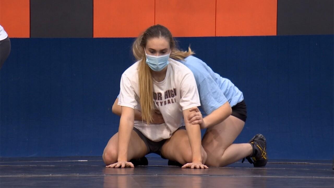 Billings Senior girls wrestling
