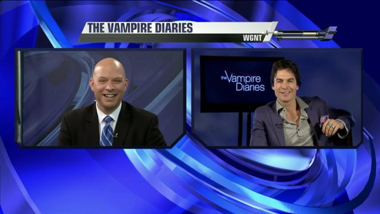 Ian Somerhalder talks 'The Vampire Diaries' on WGNT 27 with BlaineStewart