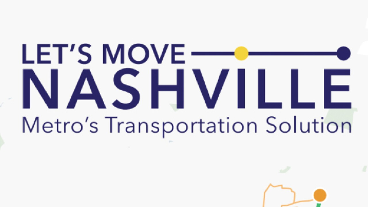 Groups Oppose Metro's Let's Move Nashville Transit Plan