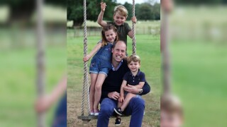Royals release new photos to commemorate Father's Day, Prince William's birthday