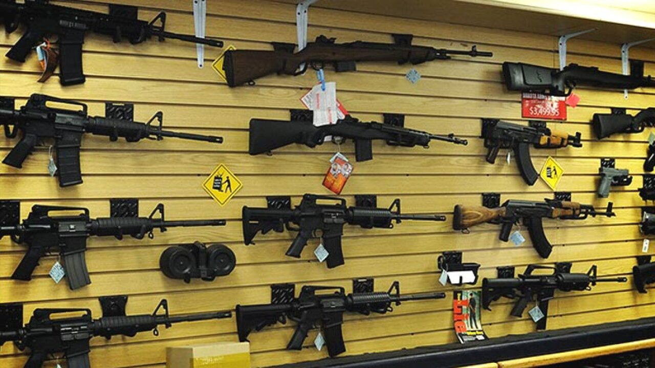 America's gun stores are overstocked