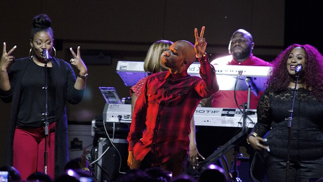 Kirk Franklin opens I Hear Music in the Air conference