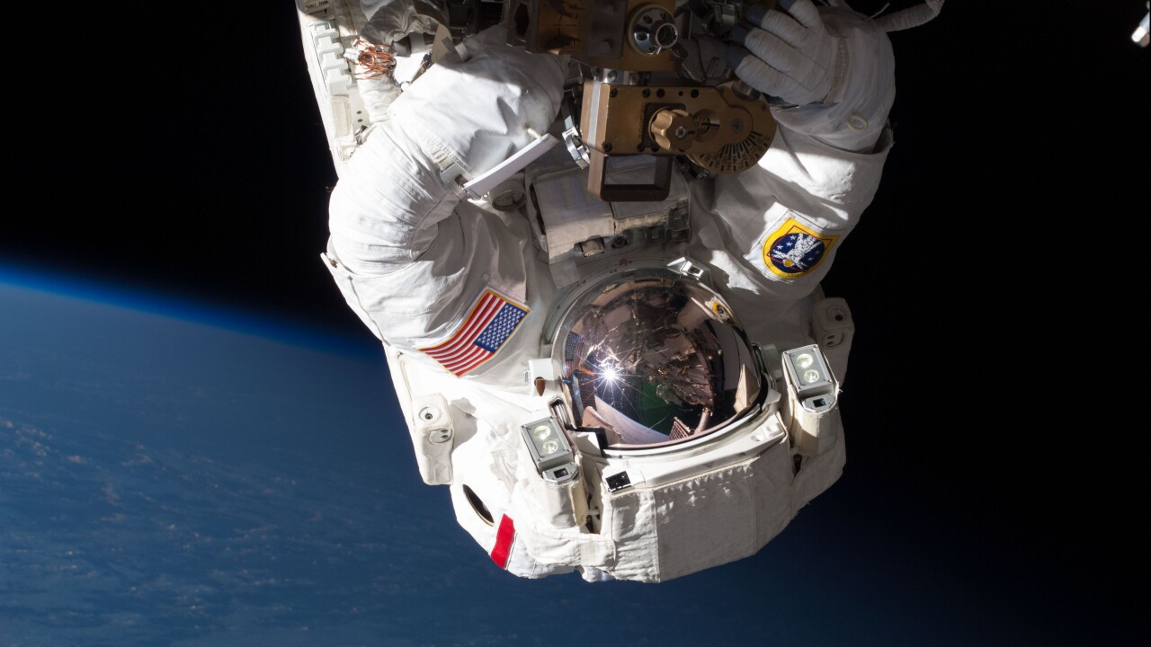 Treating the first known blood clot in space