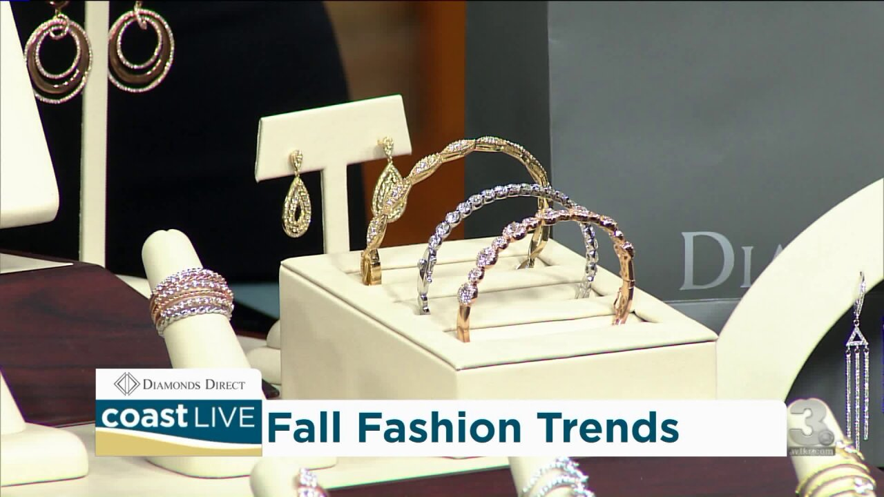 We learn what's hot in diamonds and fashion jewelry for the Fall on CoastLive