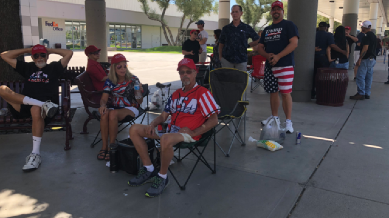 President Trump visiting Las Vegas Sept. 20