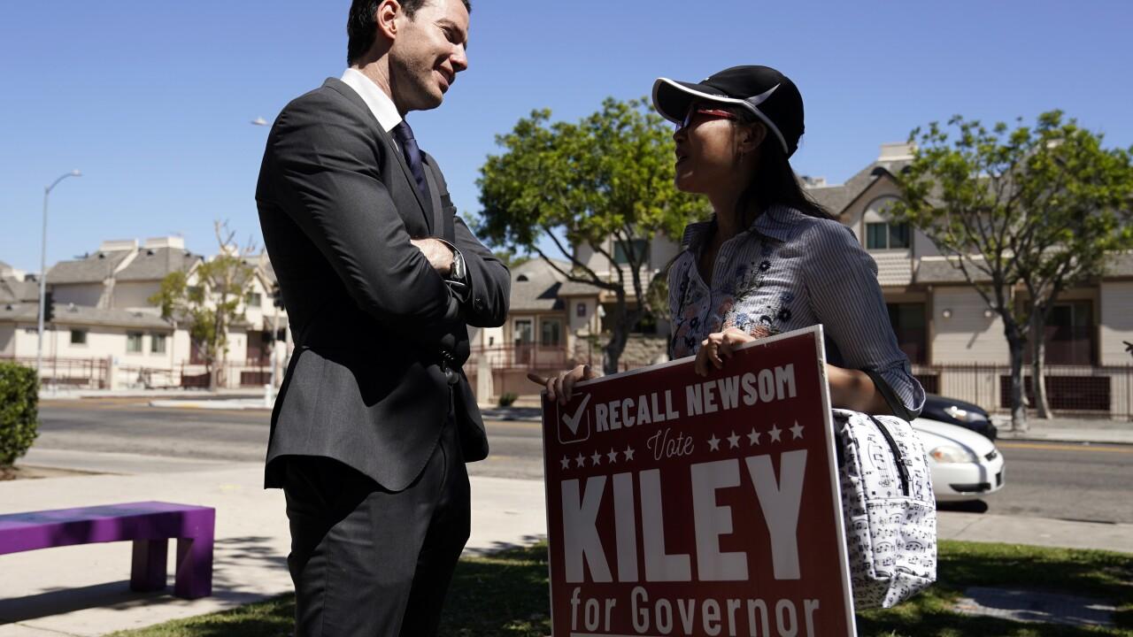 Kevin Kiley, Nancy Jiang