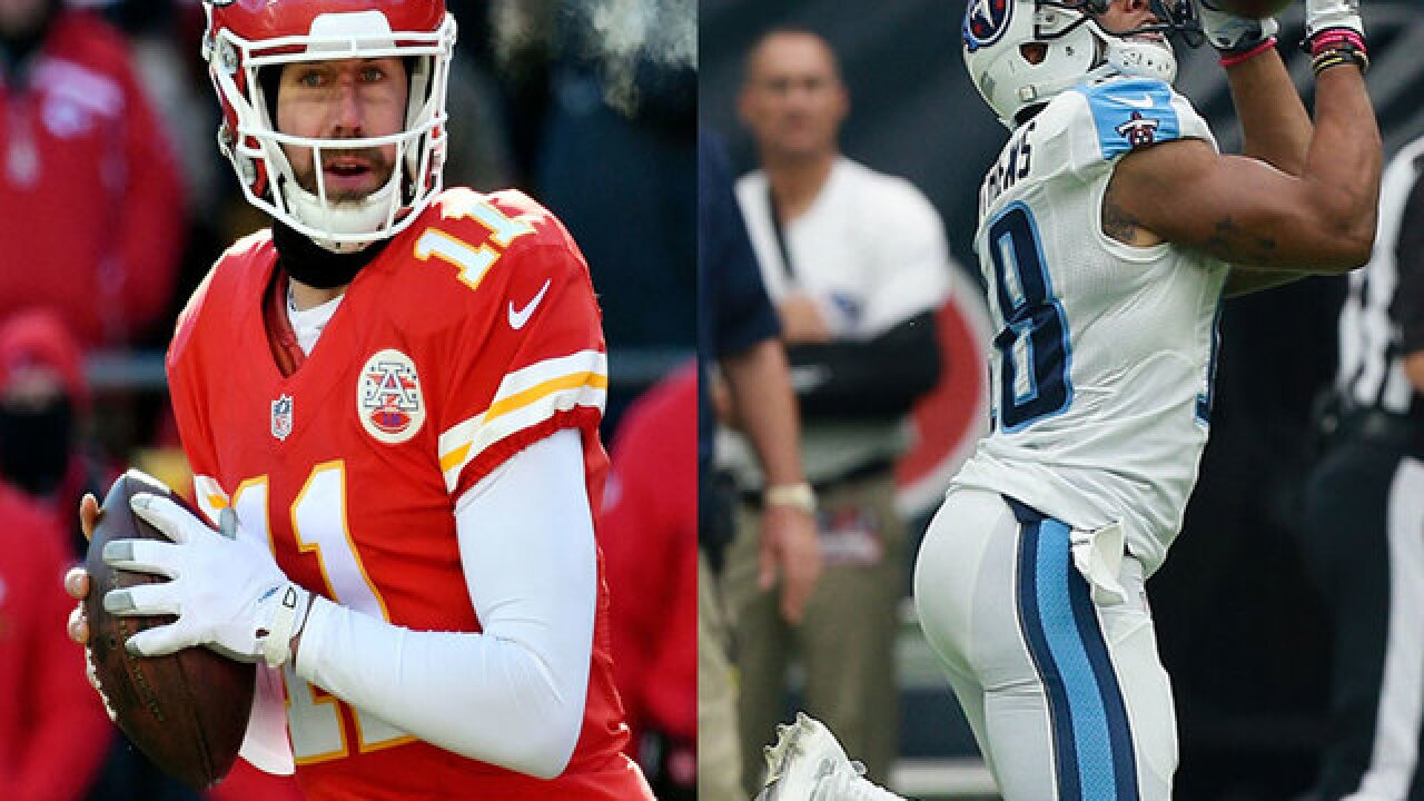 Players with San Diego ties to play big roles in Chiefs-Titans AFC Wild Card game