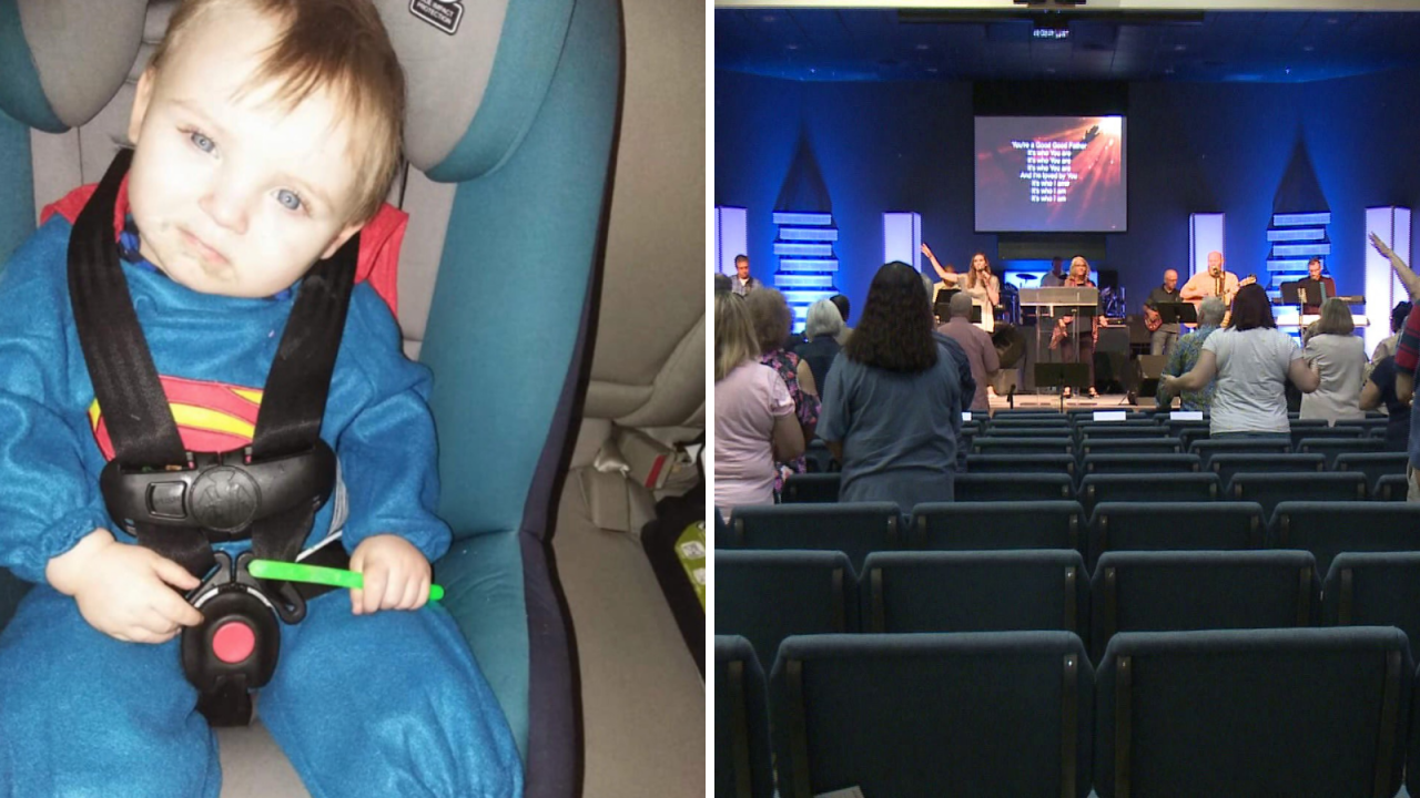Hampton church hosts 'Night of Hope' in wake of Noah Tomlin's disappearance, death