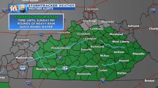 Flood Threats Remains This Weekend