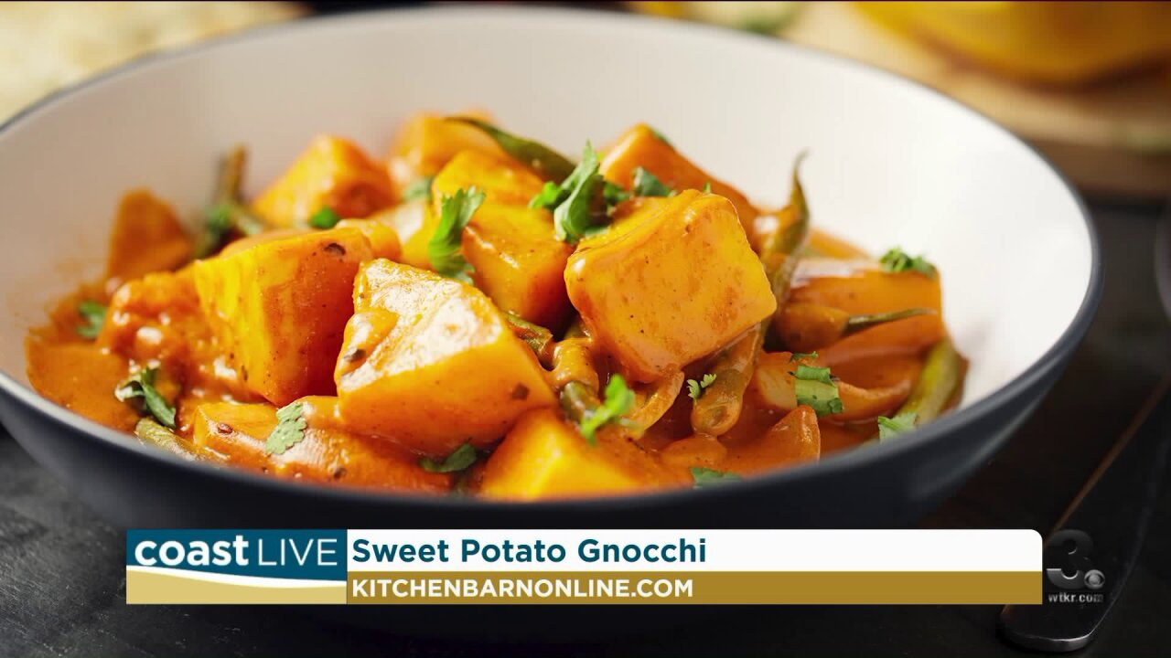 Cooking up some sweet potato gnocchi on CoastLive