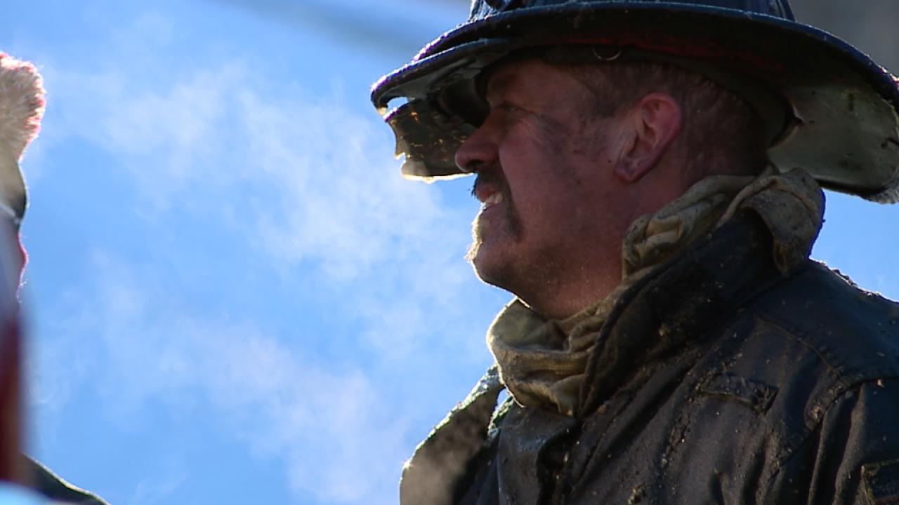 KCFD battles cold temperatures
