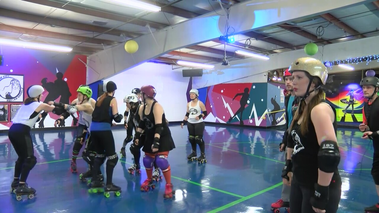 "Electric City Roller GrrrlZ; roller derby is ""empowering"""