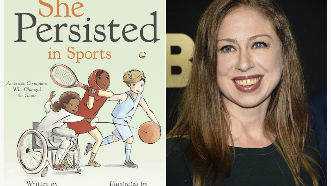 Chelsea Clinton's next book celebrates women in sports
