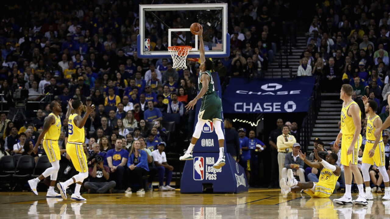 Milwaukee Bucks dismantle defending champion Golden State Warriors 134-111