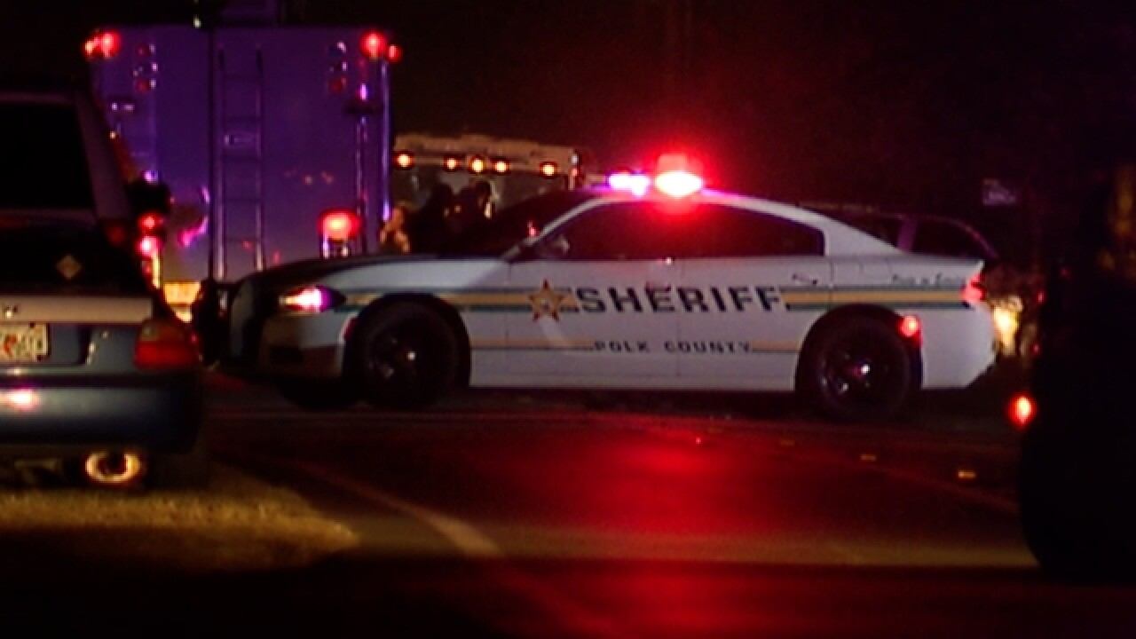 Polk County deputies in standoff with suspect