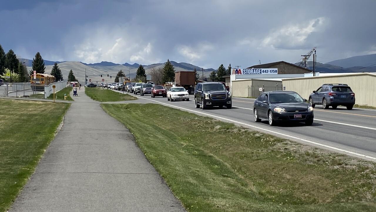 Custer Avenue Traffic