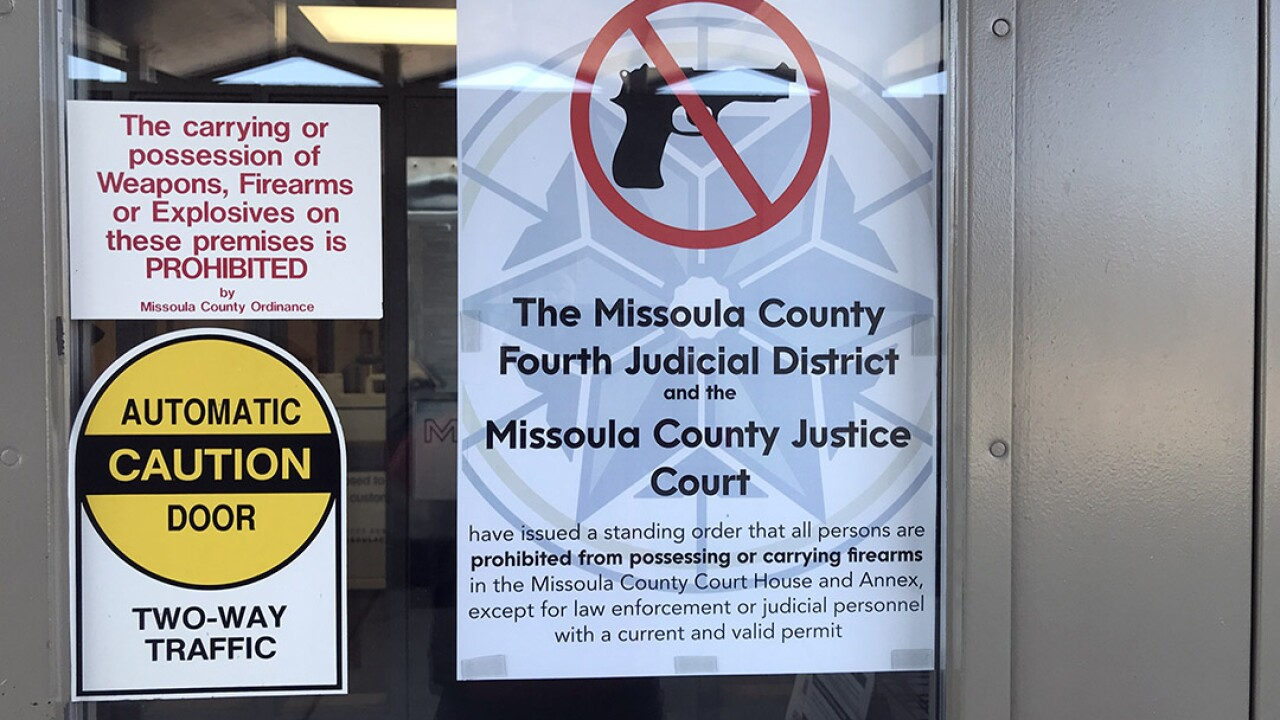 Missoula Courts Firearms