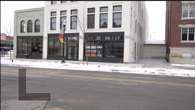 Former Vermeulen's Building located at 143 W. Cortland St., Jackson.