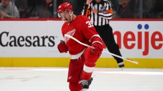 Anthony Mantha scores four goals in Red Wings win over Stars