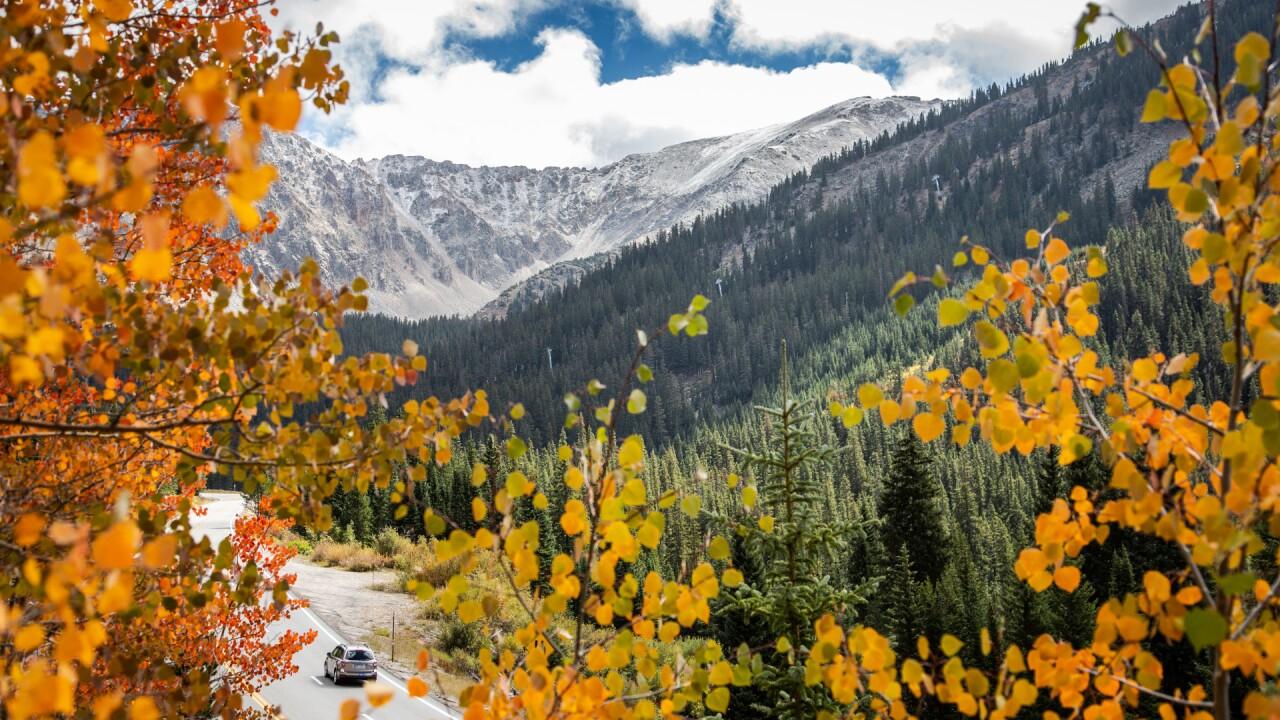 Arapahoe Basin Fall Colors