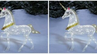 Buy LED Unicorn For Your Front Yard For Just $40