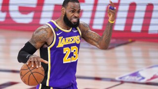 LeBron James is going to the NBA Finals a 10th time, first trip with Lakers