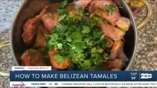 Belizean Tamales, National Latinx Heritage Month