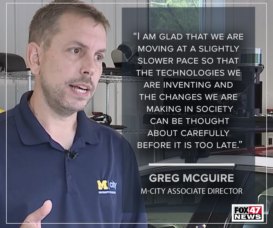 Greg McGuire, Mcity Associate Director