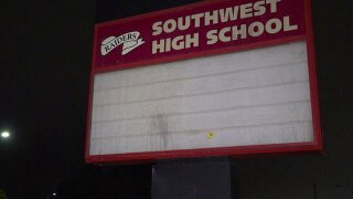 Pair arrested in Southwest HS break-in attempt