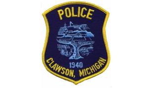 Clawson Police logo