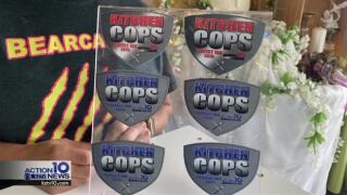 Kitchen Cops awards prominently displayed at Edible Designs