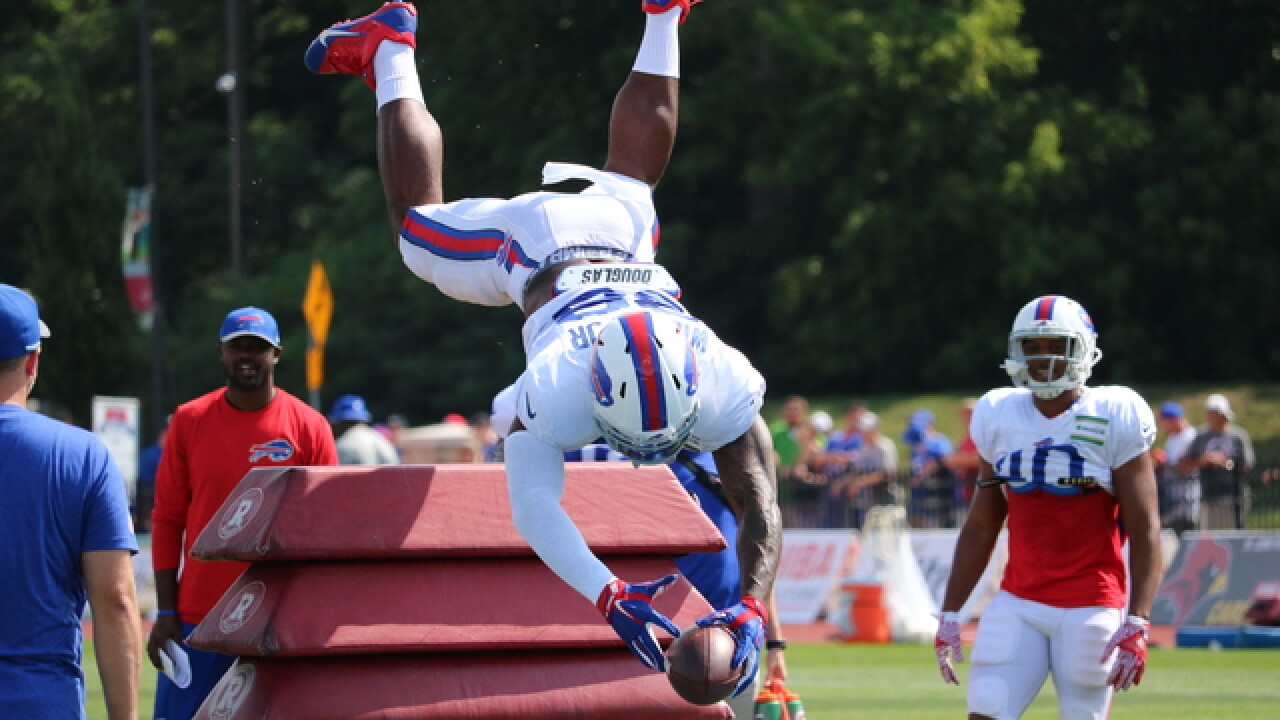 Top 20 Photos from Day 6 of Bills training...