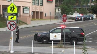 Police investigate report of possible shots fired near Dana Middle School in Point Loma