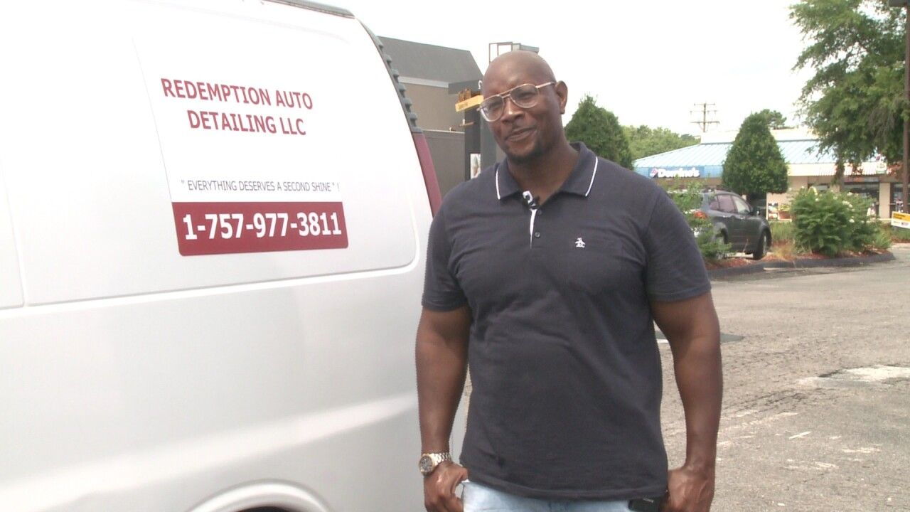 Man freed from jail uses new freedom to start dream business