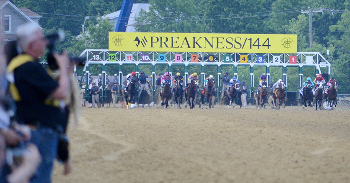 Women's bathrooms out of water during Preakness