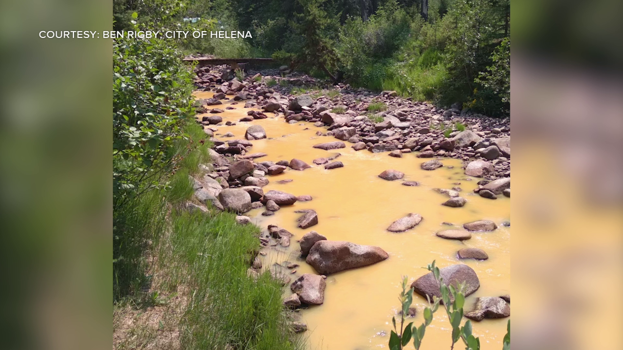mine waste spills into Tenmile Creek