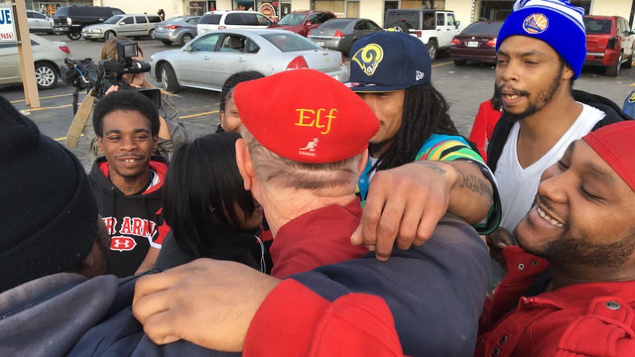 Secret Santa goes on Ferguson holiday mission