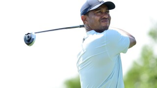 Low scoring at Liberty National, just not for Tiger Woods