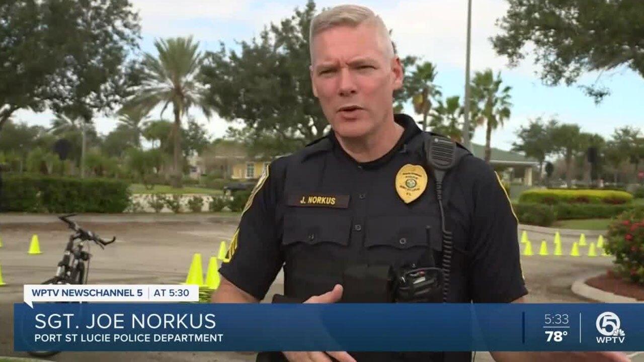 Port St. Lucie police Sgt. Joe Norkus