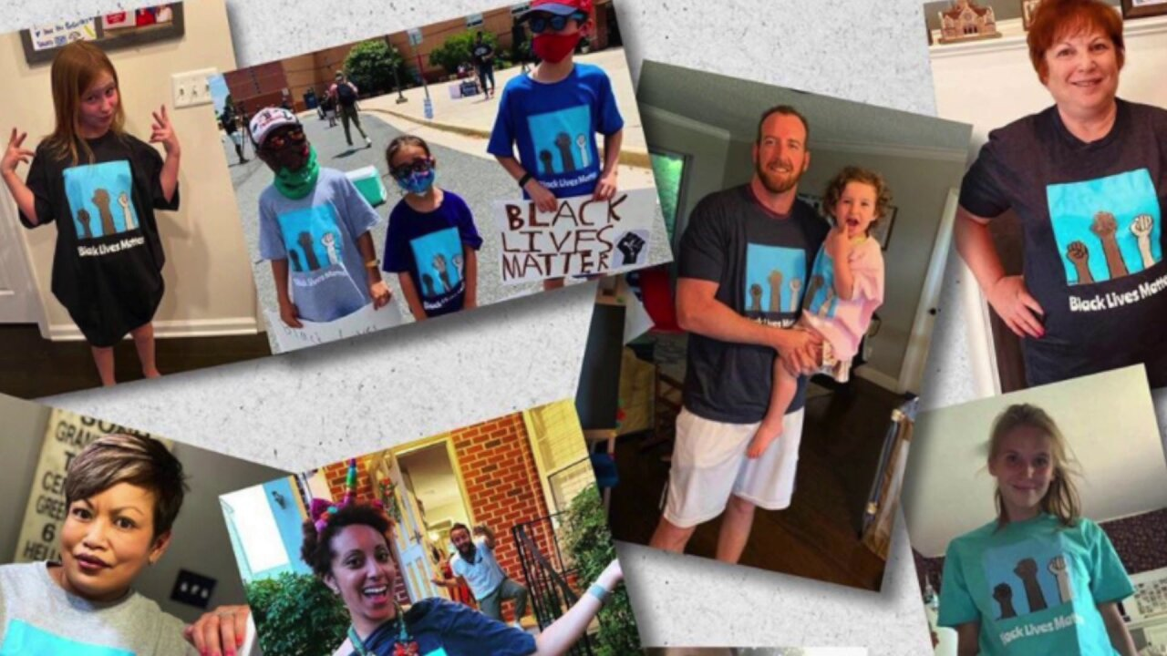 Girl designs Black Lives Matter t-shirts, raises thousands for charity