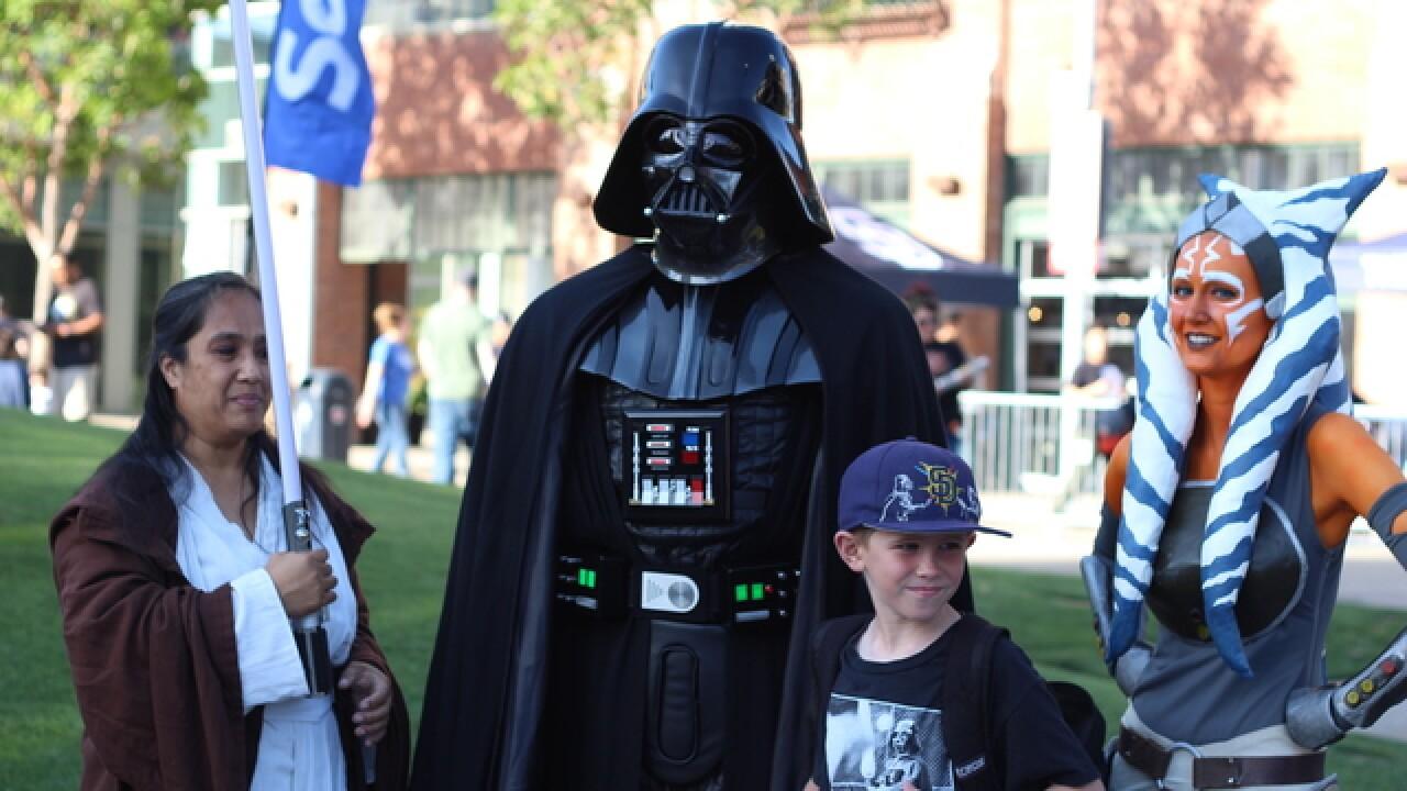 PHOTOS: San Diego's 501st Legion invades 'Star Wars' night at Petco Park
