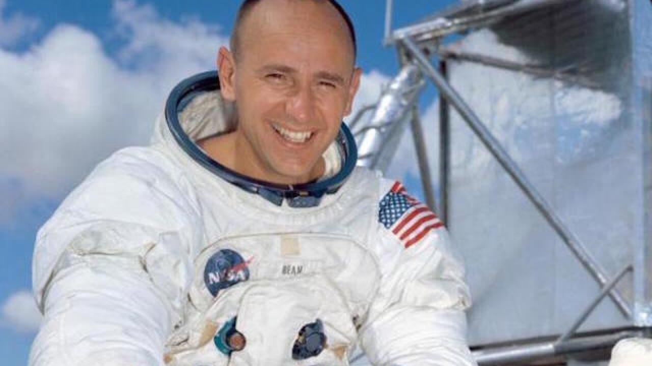 Alan Bean: Apollo astronaut, fourth man to walk on moon, dies