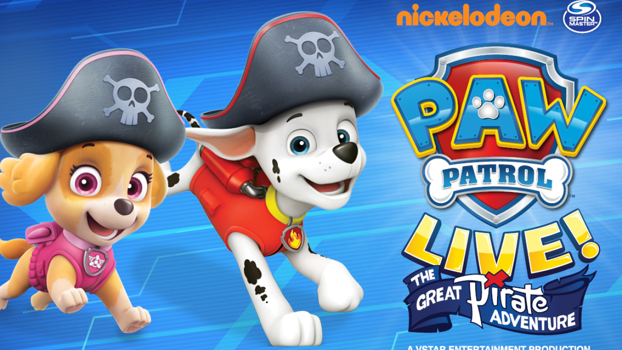 PAW Patrol Live! Sweepstakes official rules