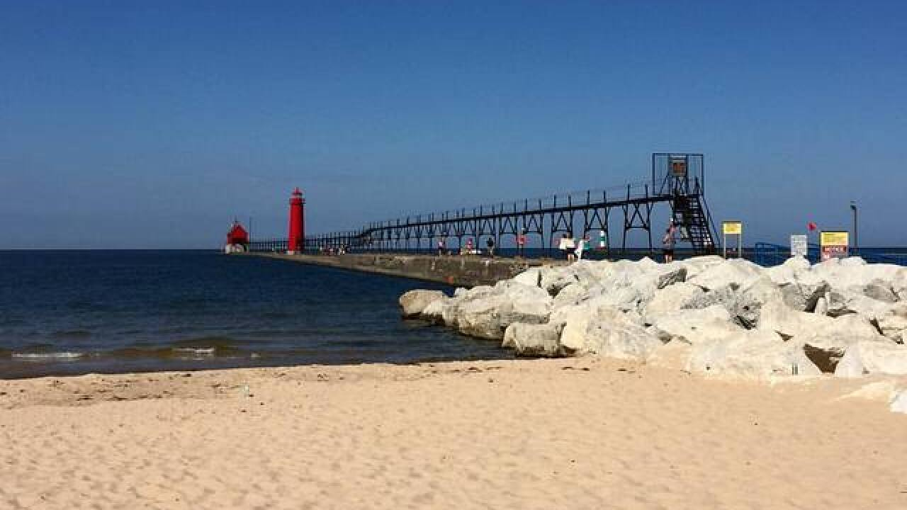Wind, high wave warnings posted for Lake Michigan beaches