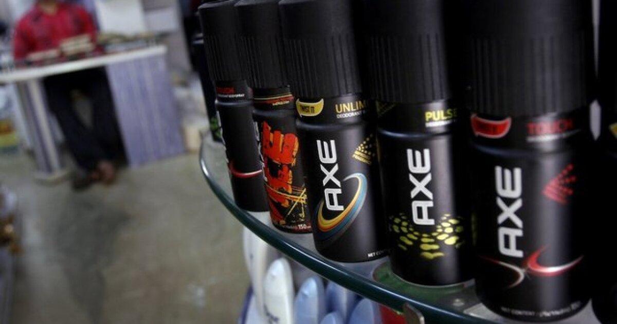 Axe body spray display