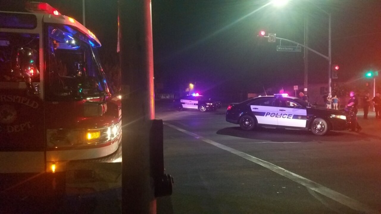 Bicyclist hit by car in East Bakersfield Tuesday night, minor injuries