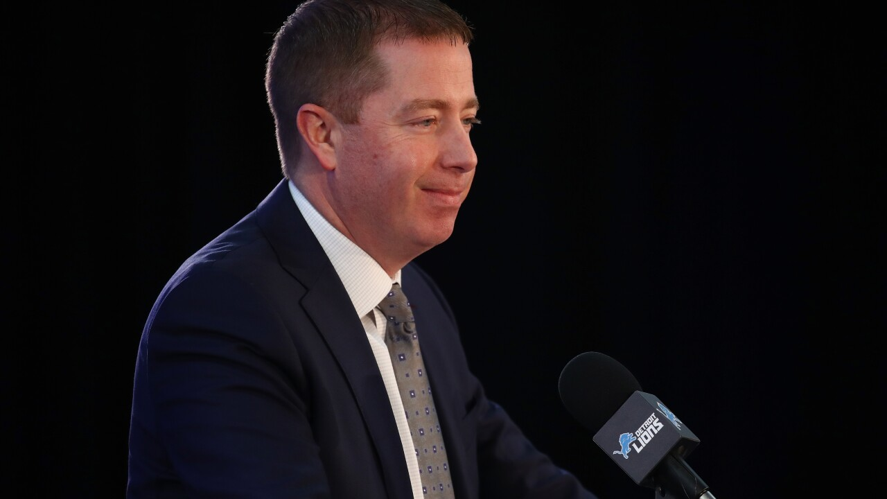 "Lions GM Bob Quinn: Hosting NFL Draft ""would be great for the city"""