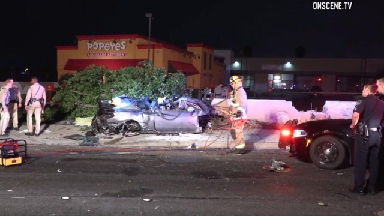 El Cajon pursuit ends in fatal collision