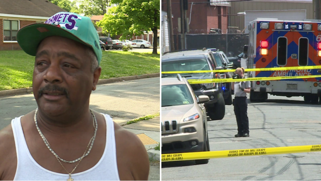Man tries in vain to save shooting victim's life: 'Tears were running down hisface'