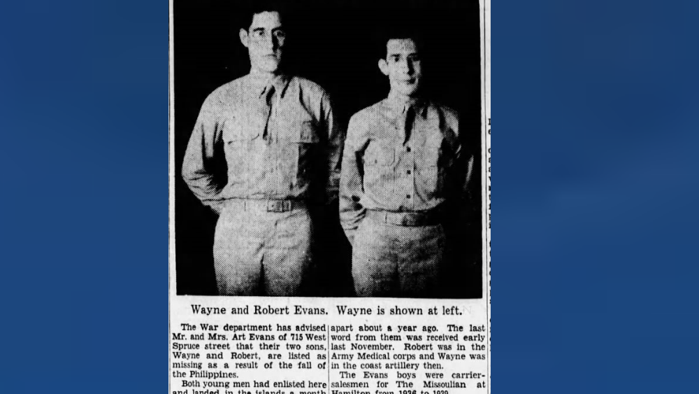 Evans Brothers News Clipping